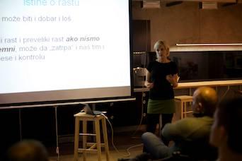 Aleksandra Vladisavljević - predavanje Pametan rast