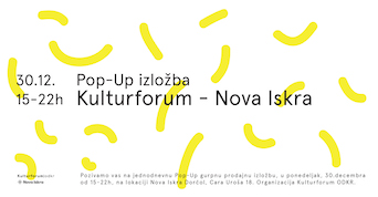 Pop-up group selling exhibition Nova iskra
